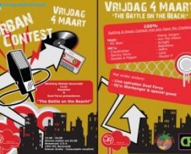 Fotoshoot Urban Contest 4 maar..