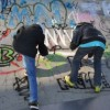 Graffitiwedstrijd en Skate Off..