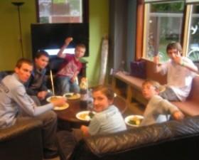 Gezond eetcafé in Place2Be