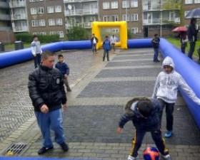 Straatvoetbal Oosterwijk
