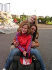 Kicken op een Skatey juli 2011